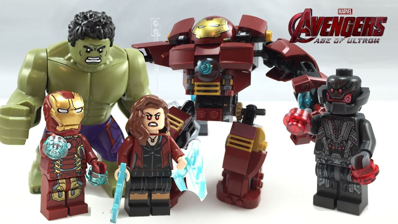 LEGO The Hulk Buster Smash Set 76031 Instructions | Brick Owl ...