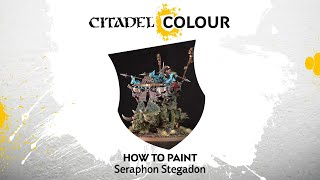How to Paint: Seraphon Stegadon