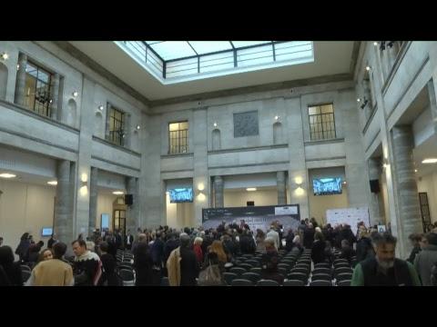Inaugurazione di Pitti Uomo 93