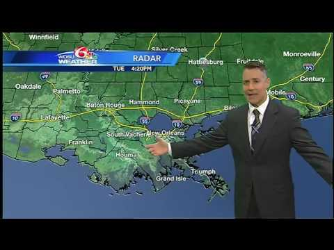 Tuesday evening: showers, storms to move through