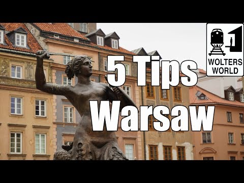 Visit Warsaw - 5 Tips for Visiting Warsaw, Poland
