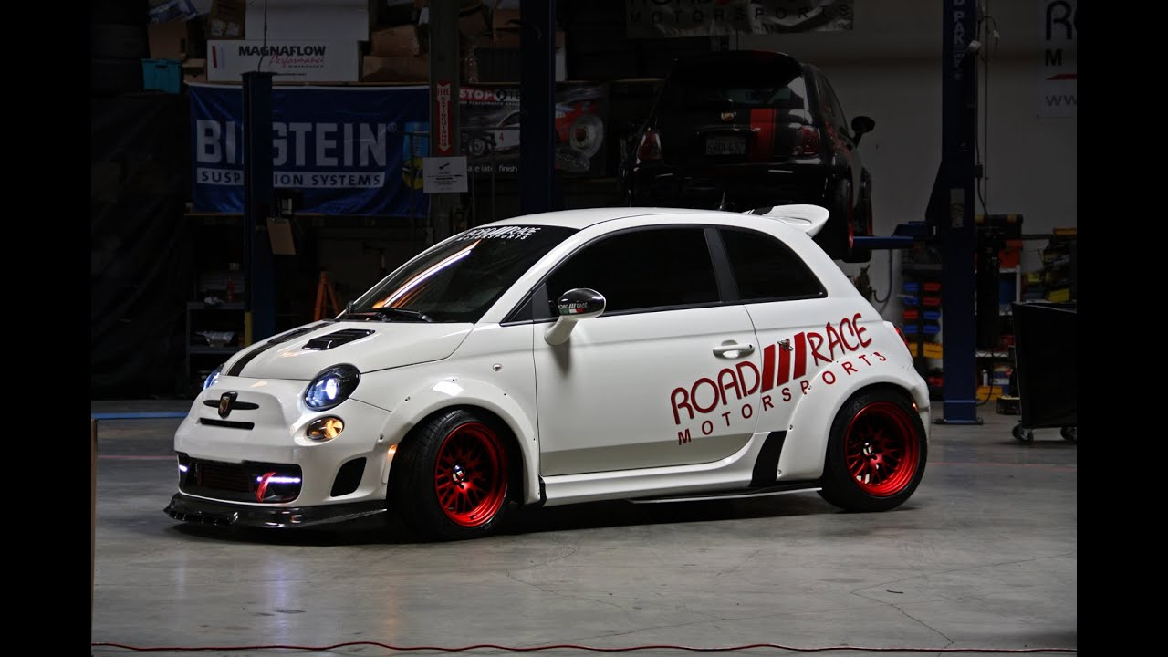 fiat 500 m1 turbo tallini competizione by road race motorsports youtube. Black Bedroom Furniture Sets. Home Design Ideas