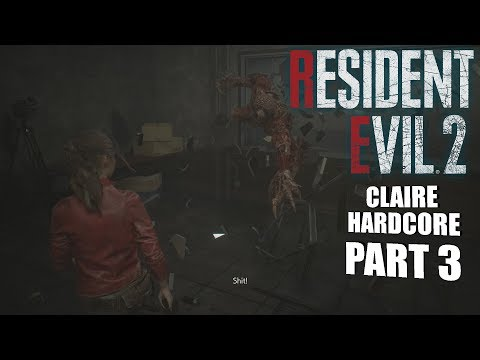 X ON MY BACKSIDE! | Resident Evil 2 REMAKE CLAIRE GAMEPLAY PART 3