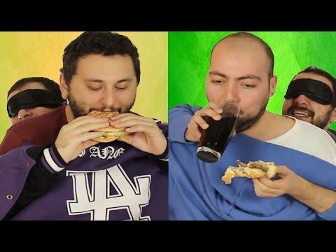 Hamburger Yedirme Yarışması - Eğlenceli Oyun