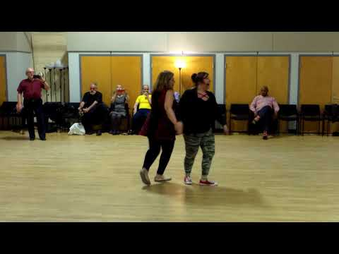 CJDS No Name dance East Coast Swing lesson Part I with Hazel Ulrich 4-21-18