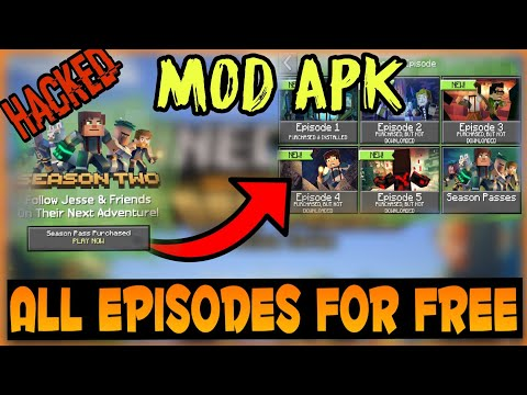 minecraft story mode apk free download all episodes