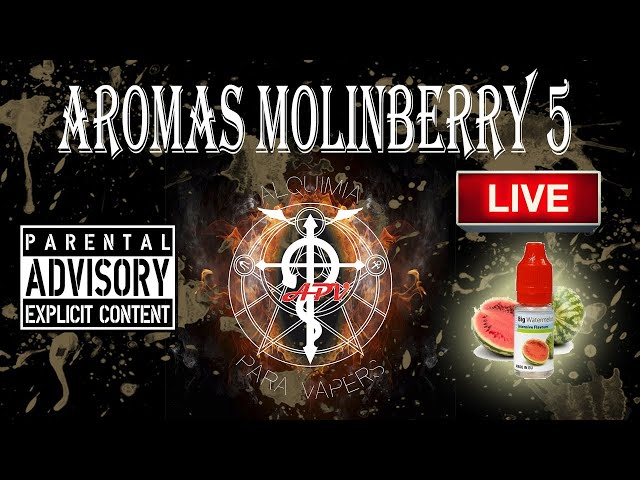 APV 112. Revisión aromas  MOLINBERRY 5