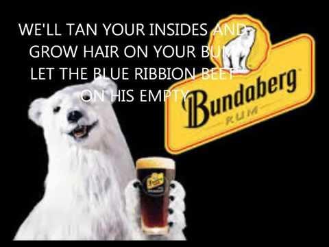 Bundaberg rum by Ian McNamara lyrics video