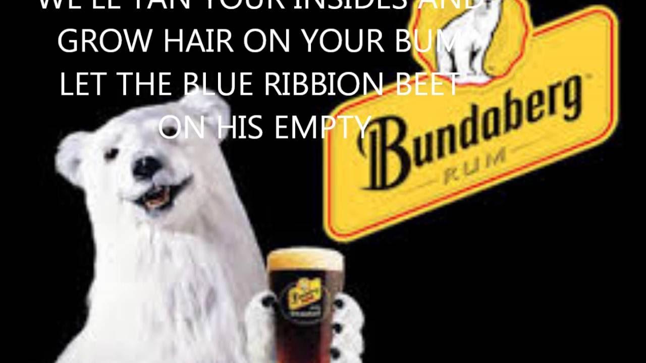 Bundaberg rum by Ian McNamara lyrics video - YouTube