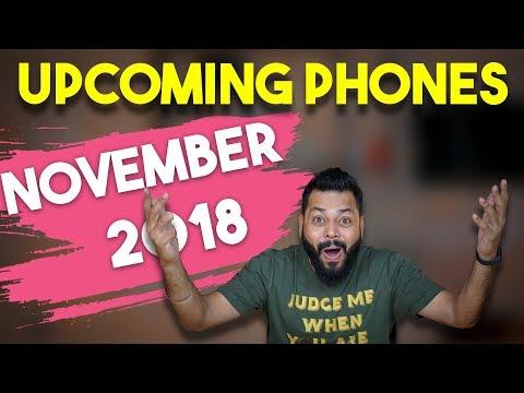 TOP 10 UPCOMING MOBILE PHONES IN INDIA  NOVEMBER 2018 ⚡⚡⚡