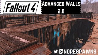 Fallout 4 Guide - Advanced Settlement Walls 2.0
