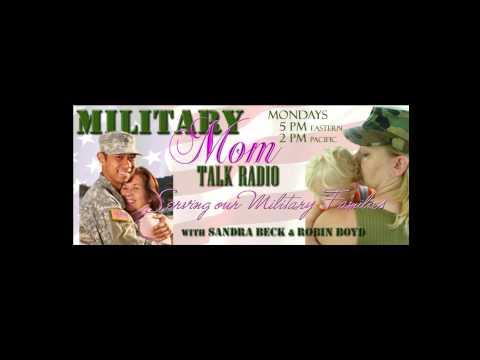 Rosalind Sedacca on Military Mom Talk Radio with Sandra Beck