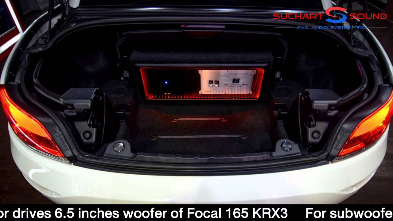 Active Tri Amplifier In Bmw Z4 Youtube