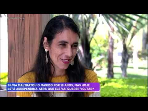 Mulher quer uma nova chance após maltratar o marido por 18 anos