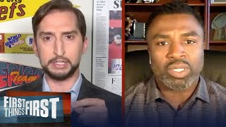 Nick Wright & sports world react to protests following death of George Floyd | FIRST THINGS FIRST