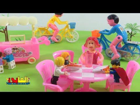 لعبة ميدو  يزور الحديقة بذى سوبر مان للأطفال ألعاب الدمى والعرائس للأولاد والبنات
