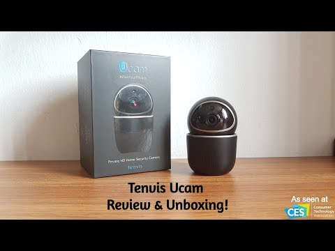 Tenvis & IoTeX Ucam Smart Secure Blockchain IP Camera [Review & Unboxing]