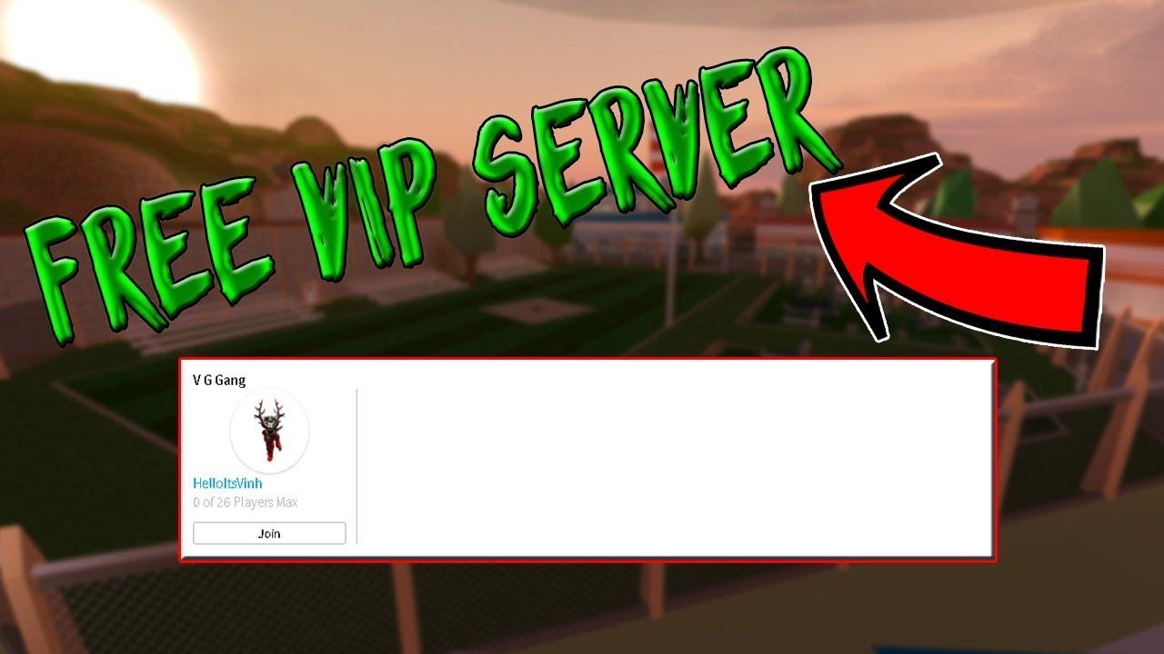 How to get Free VIP server on Jailbreak/ FREE VIP SERVER !