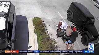 Video Shows Bystanders Helping Deputy to Wrestle Gun From Suspect in South Whittier