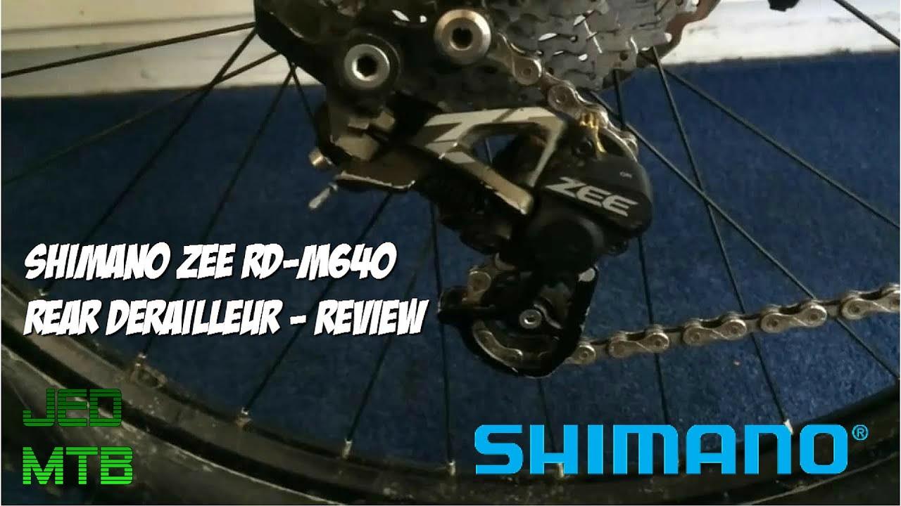 Shimano ZEE RD-M640-SSW 10-Speed Free-Ride Shadow Plus Rear Derailleur