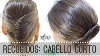 6 Peinados Faciles Para Cabello Corto 6 Easy Hairstyles For Short