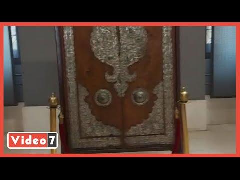 باب مسجد السيدة زينب صنعه يهودى ويوجد فى متحف الفن الإسلامى
