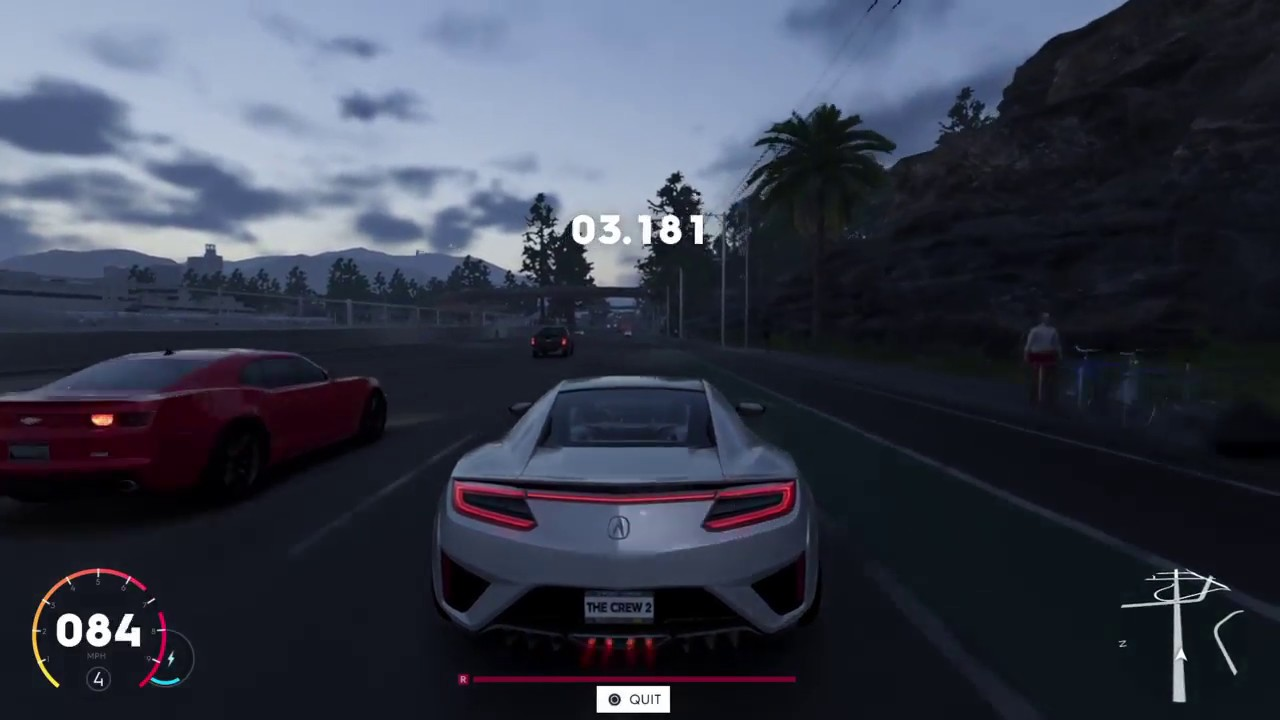 the crew 2 beta test driving acura nsx 2017 youtube. Black Bedroom Furniture Sets. Home Design Ideas