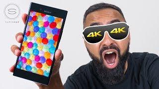 Sony Xperia XZ Premium 4K UNBOXING