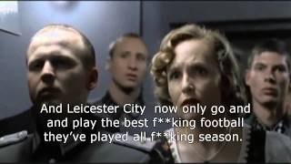 Hitler reacts to Leicester City's defeat of Manchester United.