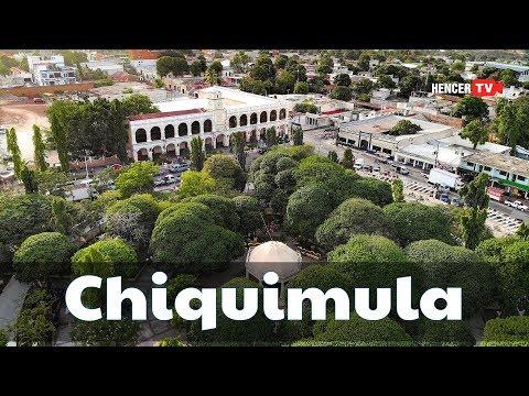 Chiquimula En El Oriente De Guatemala | Tomas De Drone Del Centro De Chiquimula.