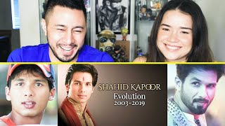 SHAHID KAPOOR EVOLUTION Reaction