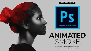 Create Gif Animated Smoke Photoshop Tutorial
