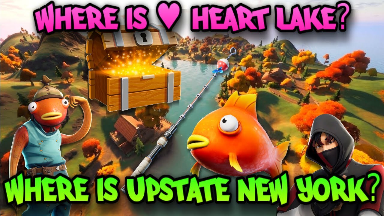 Fortnite Where Is Upstate New York Where Is Heart Lake Week 10 Challenges Easy Youtube How to solve fortnite's week 10 challenge, search chests at upstate new york. fortnite where is upstate new york where is heart lake week 10 challenges easy
