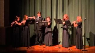 Shenandoah - Flute Ensemble - Collage Concert 2014