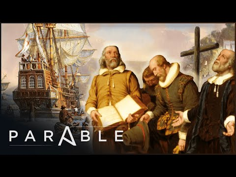 The Mayflower: The Puritan Voyage Of The Pilgrim Fathers   Journey Into The Unknown   Parable