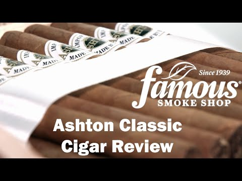 Ashton Classic Cigars Review - Famous Smoke Shop