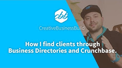 How I find clients using Business Directories and Crunchbase