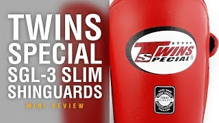 Twins Special SGL-3 Slim Shinguards - Fight Gear Focus Mini Review