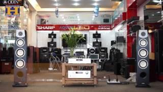 [ Audio Hoàng Hải ]  Dàn nghe nhạc loa Yamaha NS-F901 với CD, Ampli Rotel