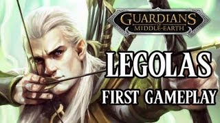Guardians of Middle-Earth - First Gameplay as Legolas w/ Commentary - Xbox Live Arcade (XBLA)