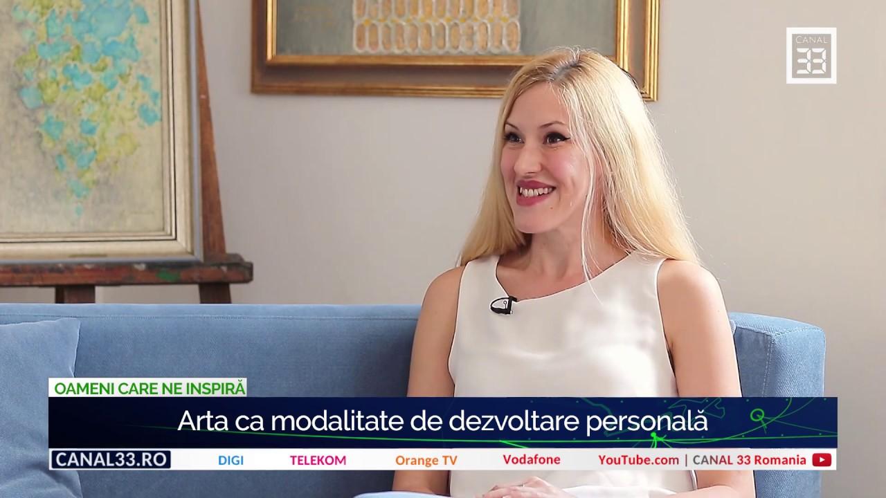 Arta ca modalitate de dezvoltare personală - cu Teodora Vărzaru