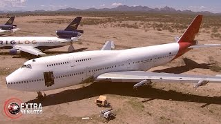 FROM THE AIR: The Plane Graveyard