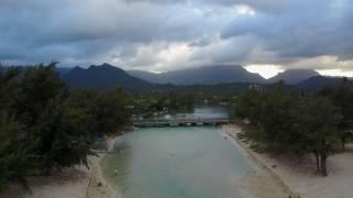 Kailua Lanikai Beach Drone 4k