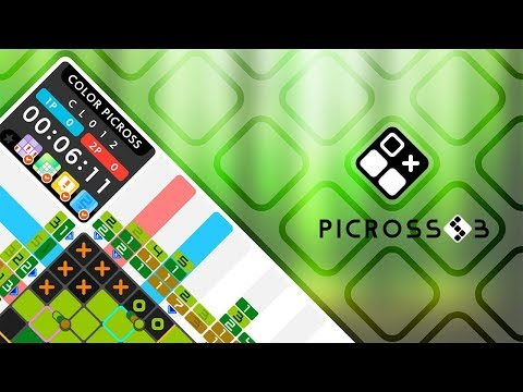 PICROSS S3 Trailer (Nintendo Switch)
