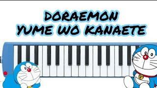Doraemon - Yume Wo Kanaete (Not angka pianika)