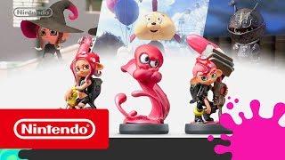 Splatoon 2 - Tráiler de los amiibo octarianos (Nintendo Switch)