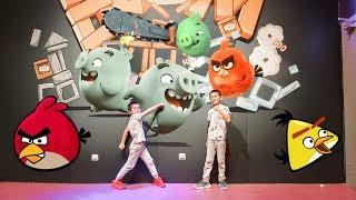 Angry Birds Aktivity Parkand Болаларди  севимли жойи 1 часть