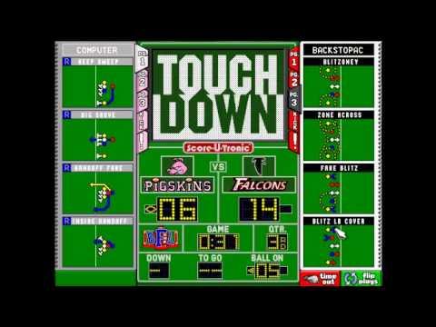 Backyard Football 1999 season playthrough:week 5- Falcons vs pigskins