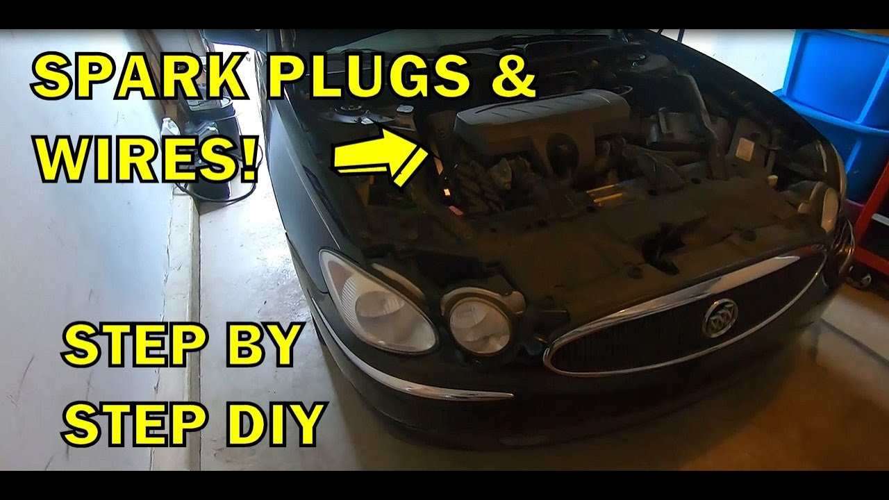 40 40 Buick Lacrosse Spark Plug/Wire Replacement 40.40L