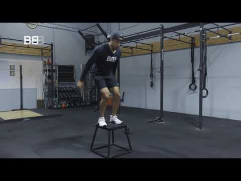 Side to side box jumps